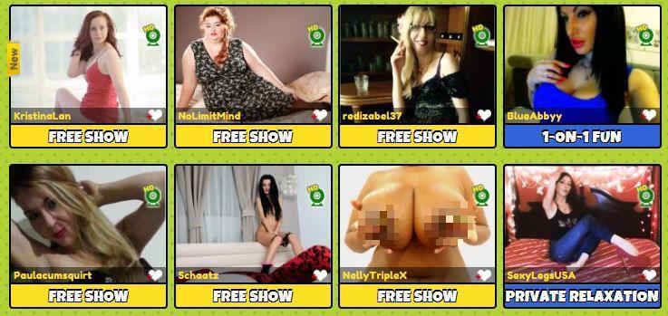 Seductive webcam models on xxx chat rooms