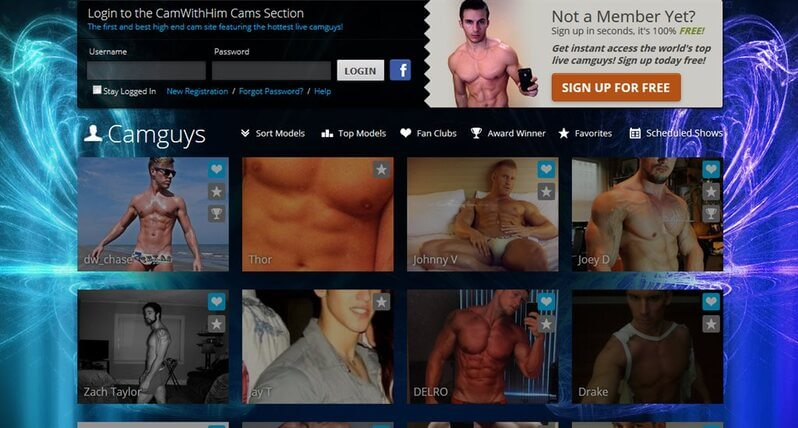 Sexy guys on CamWithHim.com