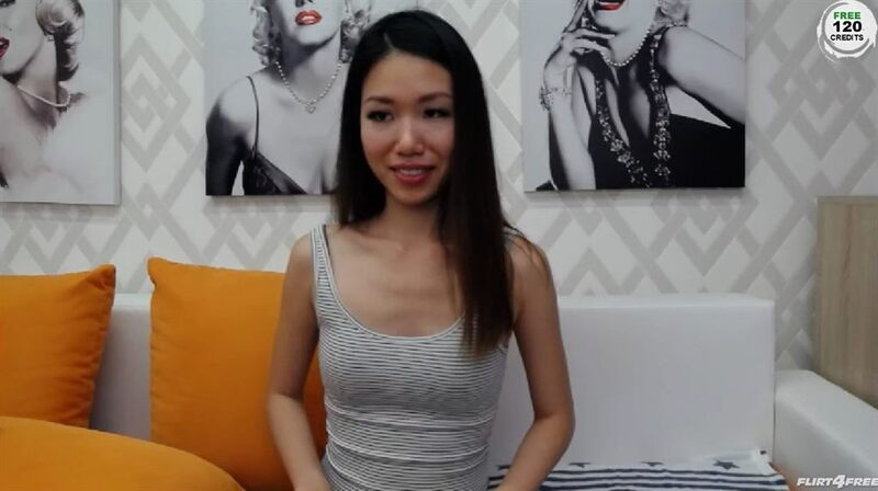 Friendly Asian cam honey in HD