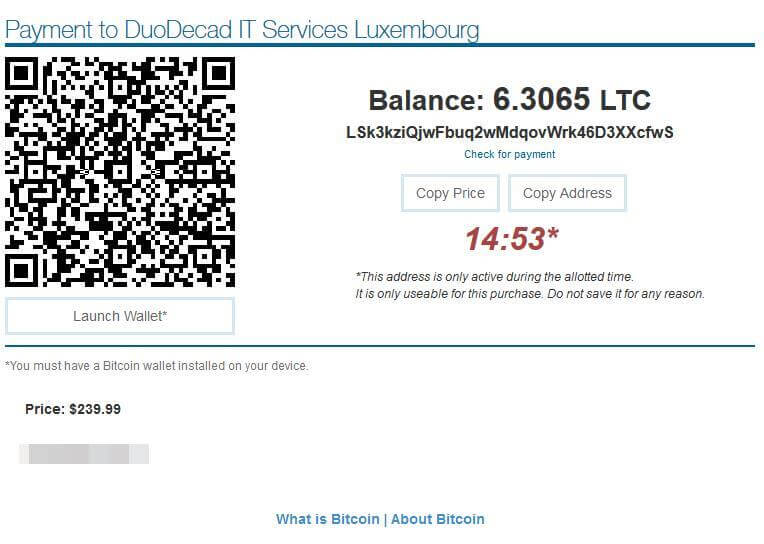 Complete your Bitcoin purchase on Livejasmin